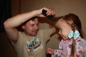 последовательность плетения детских косичек